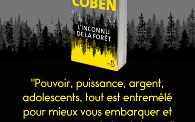 Côté polar…Harlan Coben sort son dernier roman « l'Inconnu de la foret »