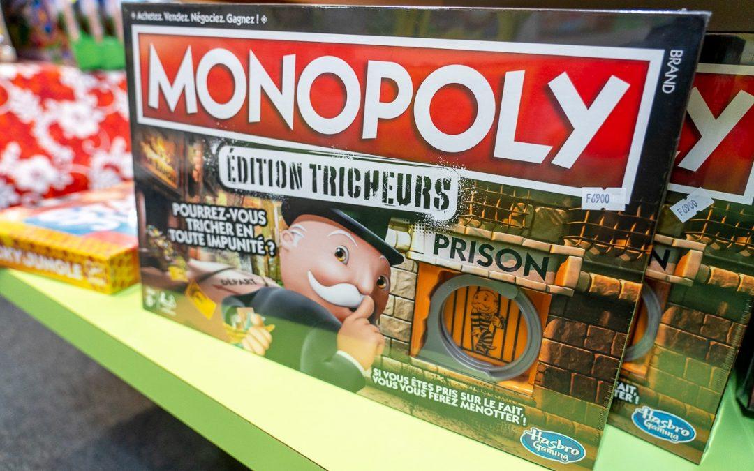 Monopoly édition tricheurs. L'avez-vous essayé ?