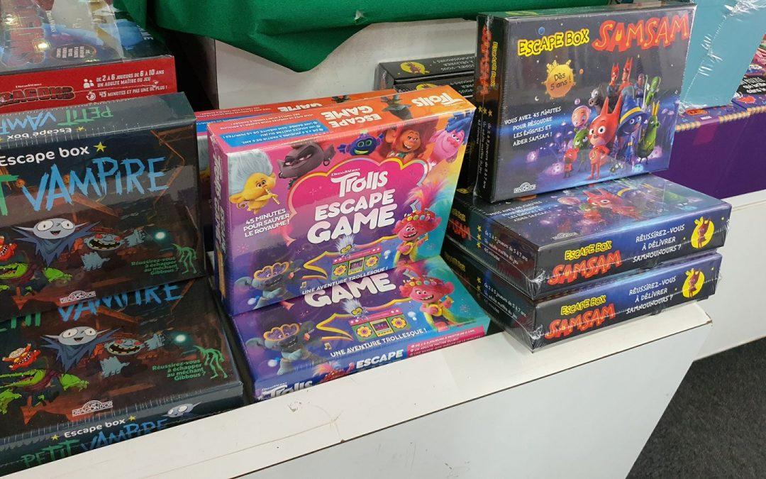 Escape box game – Des jeux d'évasion conçus spécialement pour les enfants