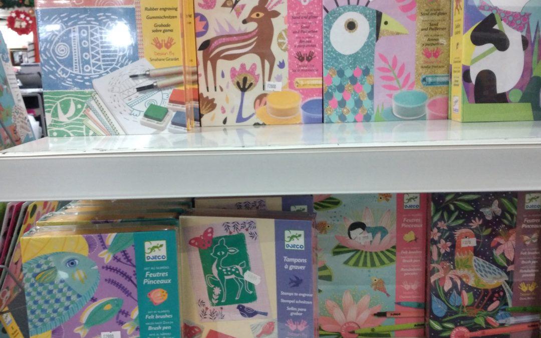 Des kits créatifs qui plairont aux enfants !