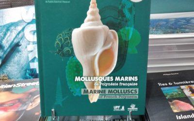 Nouveauté beau livre ! Mollusques marins de Polynésie