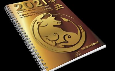 2021 L'année du Buffle de Métal – Agenda Feng Shui & BaZi – Prévisions Astrologiques