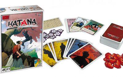 Katana – un jeu de stratégie, jeu de cartes au pays du soleil levant