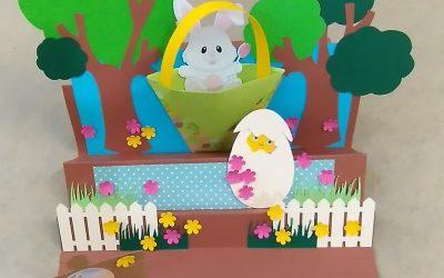 Centre de table pour Pâques